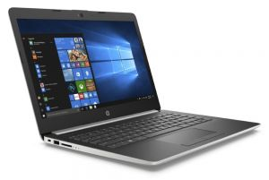 "HP 14-dg0001nc N4000/ 4GB DDR4/ 64GB eMMC/ Intel UHD 600/ 14"" HD SVA/ W10S/ stříbrný"