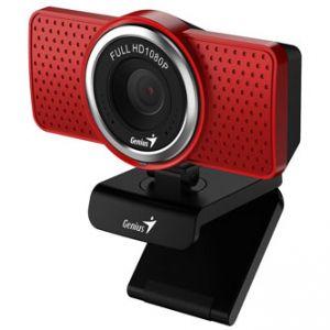Genius Web kamera ECam 8000, Full HD, USB 2.0, červená