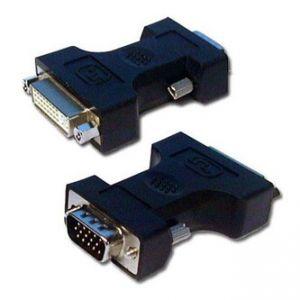 Video Redukce, DVI (24+5) F-VGA (15) M, 0, bílá, Logo, blistr