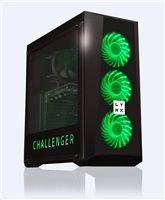 LYNX Challenger i3-7100 8GB 1TB HDD GTX 1050 2G bez OS LED GREEN LE