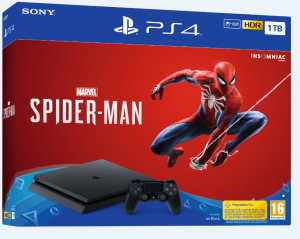PS4 Pro - Marvels Spider-Man PS4 PRO 1TB G/EAS