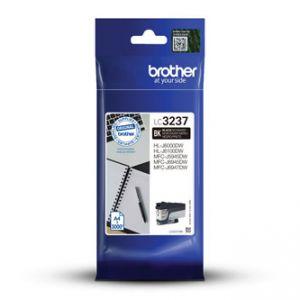 BROTHER LC-3237BK originál inkoust černý/black 3000 str.