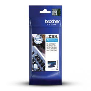 BROTHER LC-3239XLC originál inkoust modrý/Cyan 5000 str.