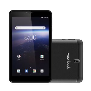 UMAX VisionBook 7Qa 3G/7´´ 1024x600 IPS/1,3GHz QC/1GB/8GB/2x SIM/GPS/WL/BT/SD slot/A8.1 Or