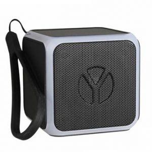 YZSY bluetooth reproduktor, FLASHY, 3W, regulace hlasitosti, černý, s LED světelnou show,