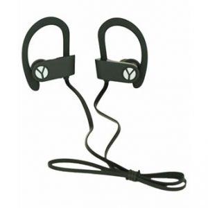 YZSY, DINOX Sports & Outdoor, sluchátka s mikrofonem, ovládání hlasitosti, černá, blue