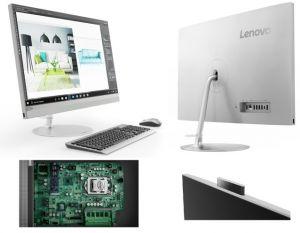 "LENOVO IdeaCentre AIO 520-27ICB   i5-8400T 3,30GHz/8GB/SSD 128GB+HDD 1TB/27"" QHD/antiglare"