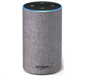 Amazon Echo Heather Grey, hlasový asistent 2. generace, šedý