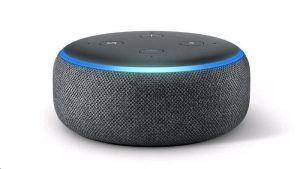 Amazon Echo Dot, hlasový asistent 3. generace, černý