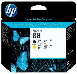 ROZBALENÉ - HP (88) C9381A  - tisk. hlava černá, žlutá k550 originál