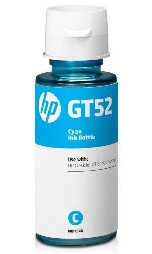ROZBALENÉ - HP inkoustová lahvička GT52 azurová M0H54AE originál