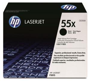 HP originální toner CE255X, black, 12500str., HP 55X, HP LaserJet P3015, LaserJet Pro 500