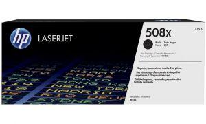 HP originální toner CF360X Black/Černá 508X 12200 str. HP Color LaserJet Enterprise M552