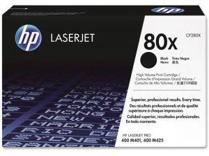 HP originální toner CF280X black 6900str, 80X HP LaserJet+, N,