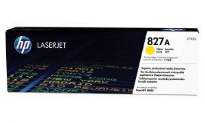 HP originální toner CF302A, yellow, 32000str., HP 827A, HP Color LaserJet MFP M880z, 850g