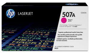 HP originální toner CE403A, magenta, 6000str., HP 507A, HP LaserJet Enterprise 500 color M