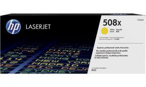 HP originální toner CF362X Yellow/Žlutá 508X 9500str. HP Color LaserJet Enterprise M552