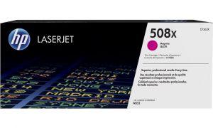 HP originální toner CF363X Magenta/Červená 508X 9500str. HP Color LaserJet Enterprise M552