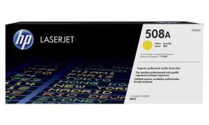 HP originální toner CF362A Yellow/Žlutá 508A 5000str. HP Color LaserJet Enterprise M552