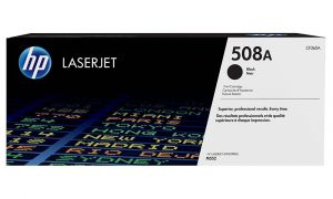HP originální toner CF360A Black/Černá 508A 6000str. HP Color LaserJet Enterprise M552