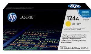 HP originální toner Q6002A yellow žlutý 2000str. 124A HP Color LaserJet 1600, 2600n, 2605