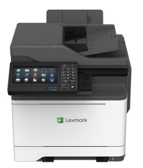 LEXMARK CX625ade color laser MFP, 38 ppm, síť, duplex, fax, DADF, dotykový LCD