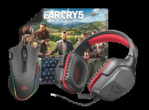 TRUST GXT Gaming bundle 3-in-1 + free Far Cry 5 - černé provedení