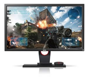 "POUŽITÉ - ZOWIE by BENQ 24"" LED XL2430 Dark Grey/ FF/ LBL/ 1920x1080/ 12M:1/ 1ms/ DVI/ 2x"