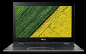 """ACER Spin 5 - 13,3T""""/i7-8565U/8G/512SSD/W10 šedý + stylus"""
