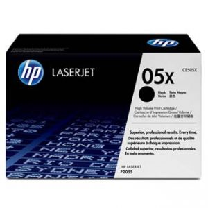 Tonerová cartridge HP LaserJet P2055, black, CE505XC - poškoz. obalu B (viz. popis)