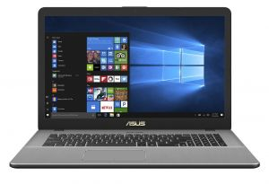 """ASUS VivoBook Pro - 17,3""""/i7-8565U/256SSD+2TB/2*8G/MX150/W10 šedý"""
