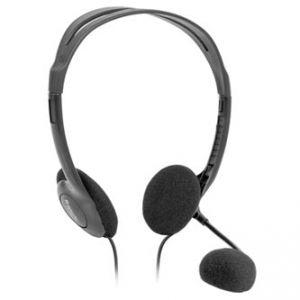 DEFENDER Aura HN-102, sluchátka s mikrofonem, ovládání hlasitosti, 2x 3.5 mm jack, headset