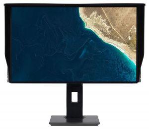 "27"" LCD ACER ProDesigner PE270K - IPS,4K,4ms,350cd/m2, 100M:1,16:9,HDMI,DP,USB-C,USB,repro"