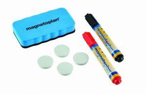Popisovače, stěrka, magnety - Start sada MAGNETOPLAN OPTIMAL