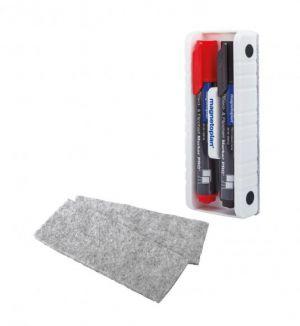 Popisovače, stěrka s držákem - Start sada MAGNETOPLAN BASIC