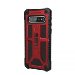 UAG Monarch case, crimson - Galaxy S10