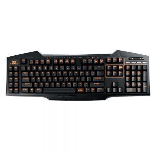 ASUS STRIX Tactic Pro mech. keyboard BLACK (US layout) + dárek ASUS CERBERUS Pad SPEED