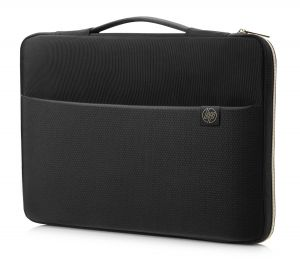 HP 14 Carry Sleeve Black/Gold