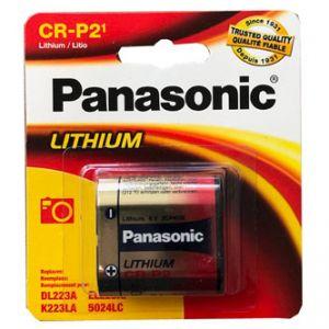 Panasonic CR-P2 Baterie lithiová 6V blistr 1-pack, cena za 1 ks baterie