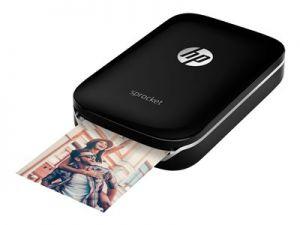HP Sprocket Photo Printer čierna ZINK 50x76 mm až 0.67 min/str. (barevný)
