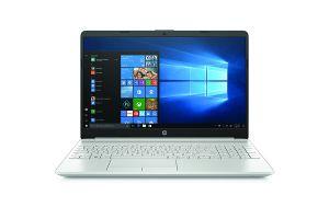 HP Laptop 15-dw0002nc, Pentium Gold 4417U, 15.6 FHD/IPS, 8GB, 2TB, W10, 2y, Natural Silver