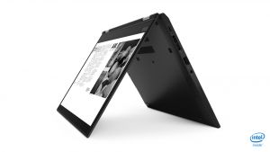 Lenovo TP X390 Yoga, 13.3 FullHD i5-8265U 8GB 256GB SSD Integrated Graphics Backlit Keyb W