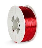 VERBATIM 3D Printer Filament PET-G 2.85mm 1000g red transparent