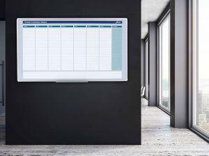 Plánovací tabule AVELI, týdenní, 104x60 cm