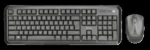 TRUST Nova Wireless Keyboard and mouse CZ /SK