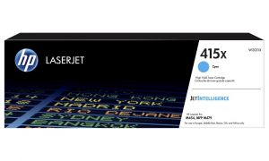 HP originální toner 415X Cyan/Modrá  LaserJet Pro M454dn,M454dw,MFP M479fdn,MFP M479fdw