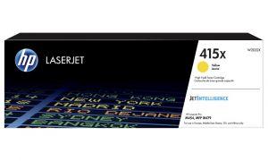 HP originální toner 415X Yellow/Žlutá  LaserJet Pro M454dn,M454dw,MFP M479fdn,MFP M479fdw