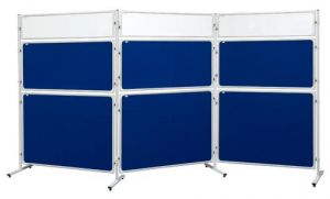 Panel 2x3 Modular, 120 x 90 cm, filcový modrý