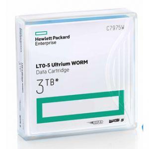 HP LTO Ultrium WORM 5, 1500 (1,5 TB)/GB 3000 (3 TB)GB, labeled, světle modrá, C7975AW, pro