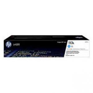 HP 117A Tonert Modrý/Cyan 700str. pro HP 150a, 150nw, HP Color Laser MFP 178nw